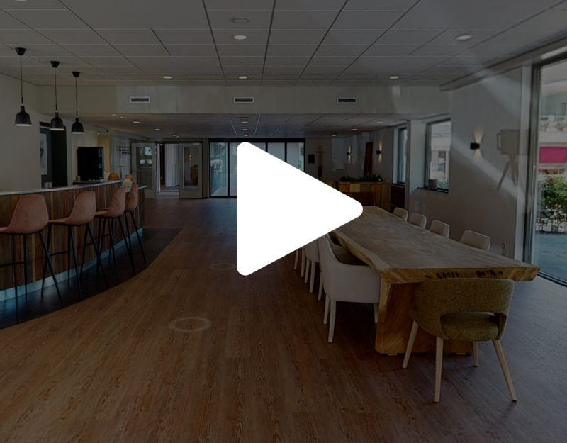 3D Lobby en recreatieruimte